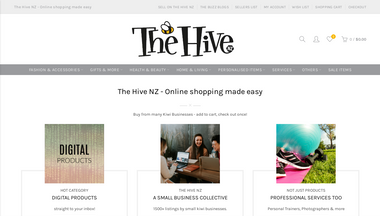 thehivenz.co.nz Screenshot