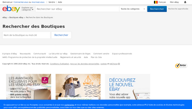 musique.stores.shop.befr.ebay.be Screenshot