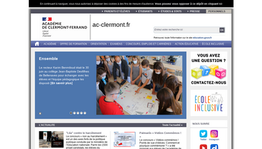 ac-clermont.fr Screenshot