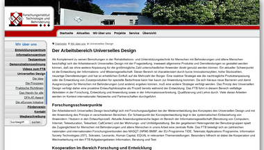 universelles-design.de Screenshot