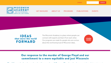 wisconsinacademy.org Screenshot
