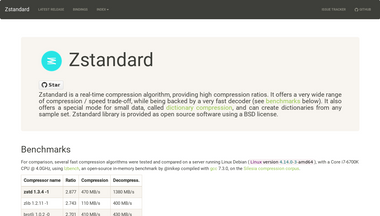 zstandard.net Screenshot