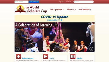 scholarscup.org Screenshot