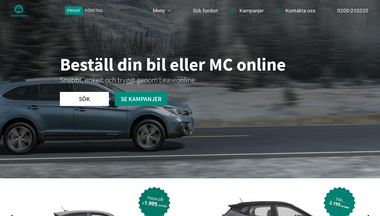 leaseonline.se Screenshot