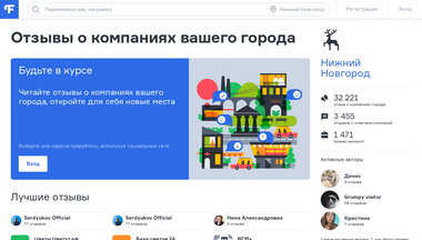 nnovgorod.flamp.ru Screenshot