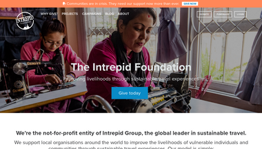 theintrepidfoundation.org Screenshot