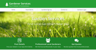 gardenerservices.co.uk Screenshot