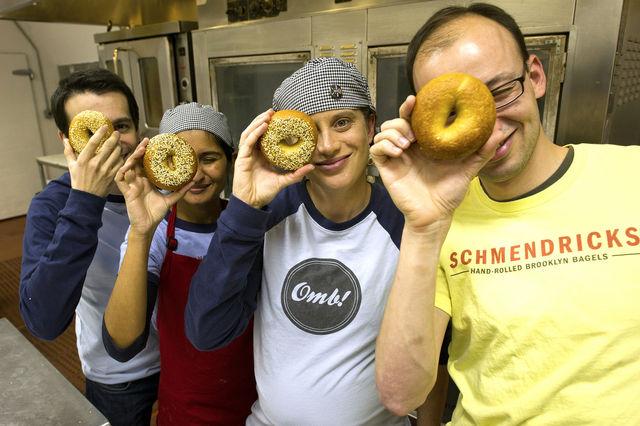 schmendricks Bagel team