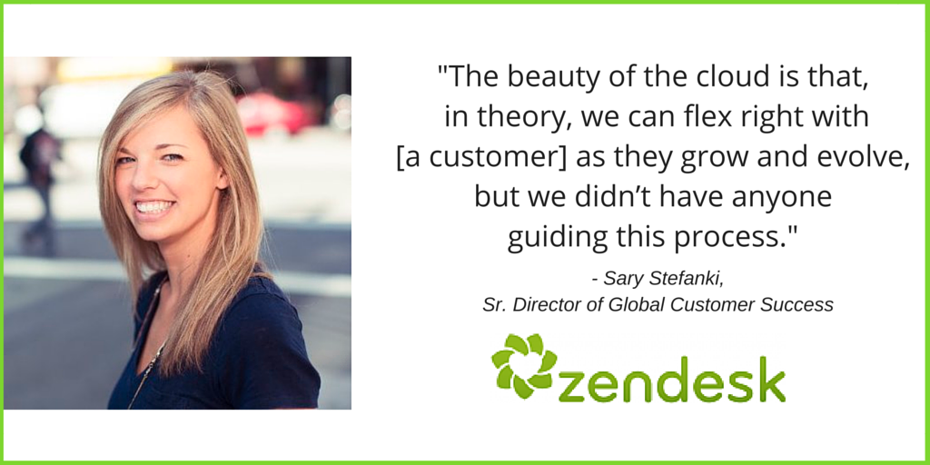 Sary Stefanski, ZenDesk Success Story