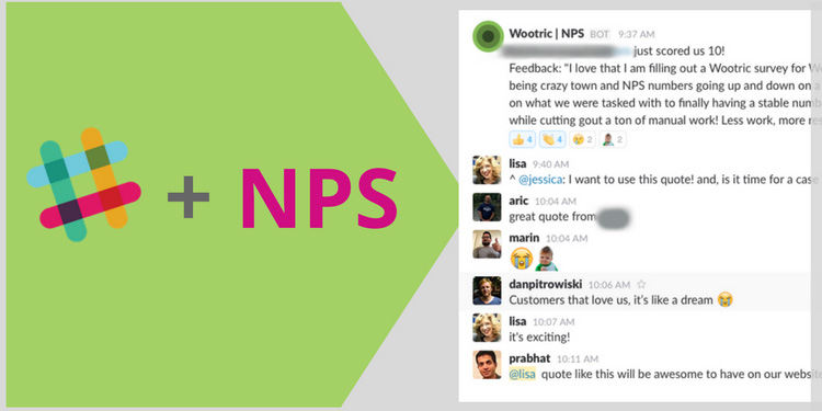 How To Use Slack And Net Promoter Score Data To Create A