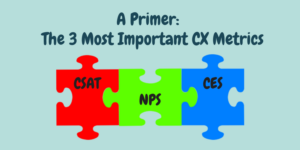 3 Most Important CX Metrics: NPS, CSAT, CES