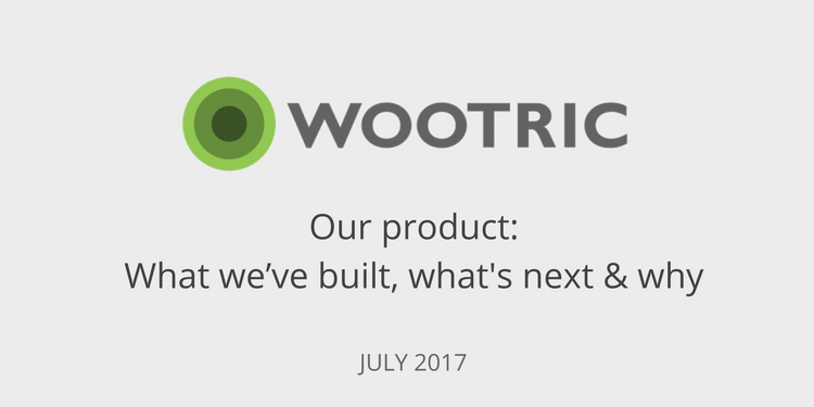 Wootric Product July 2017