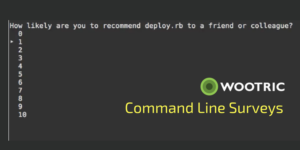 Announcing Command Line Surveys – Get NPS Feedback from Developers