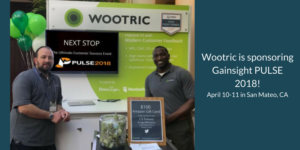 Wootric brings Modern Customer Feedback Management to Gainsight PULSE 2018