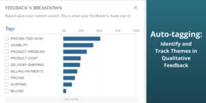 Automatically Analyze Qualitative Customer Feedback with Auto-tagging