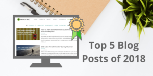 Top 5 Blog Articles for CX Practitioners in 2018