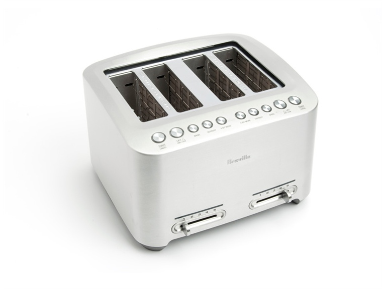 Breville Die Cast 4 Slice Automatic Smart Toaster Woot
