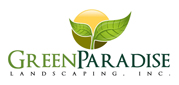 Website for Green Paradise Landscaping, Inc.