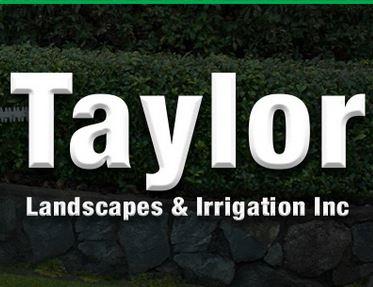 Website for Taylor Landscape & Irrigation, Inc.