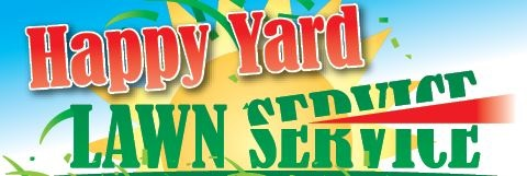 Website for Happy Yard Lawn Services