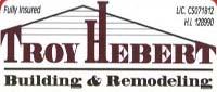 Website for Troy Hebert Building & Remodeling, Inc.