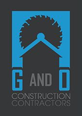 Website for G & O Construction Contractors,  Inc.