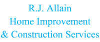 Website for R.J.  Allain Home Improvement and Construction Services