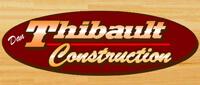 Website for Dan Thibault Construction