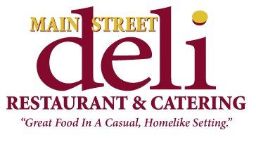 Website for Main Street Deli Restaurant