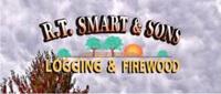 Website for RT Smart & Sons Logging & Firewood