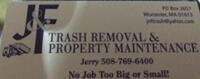 Website for J & F Trash