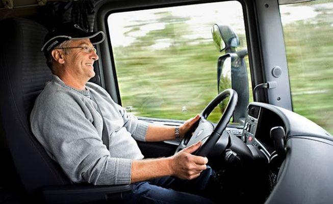 Test Drive de caminhão