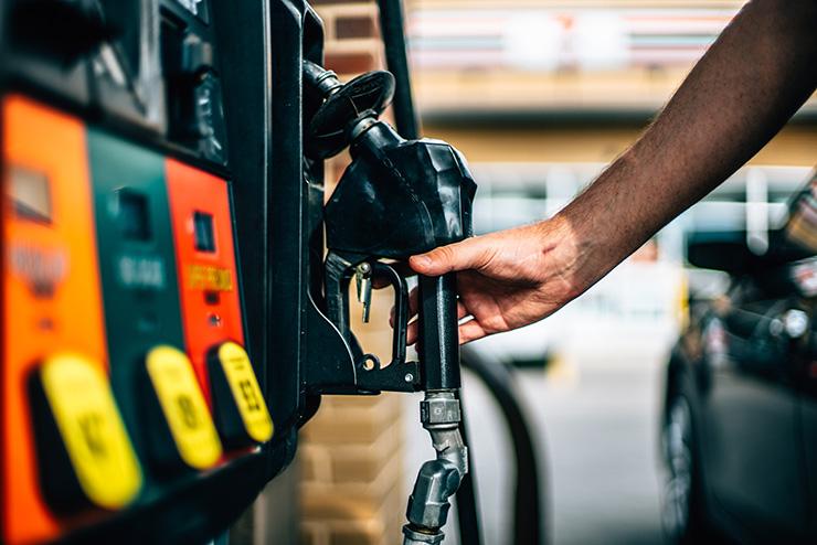 Aumento do combustível