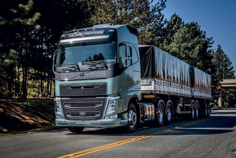 10 caminhões mais emplacados em agosto