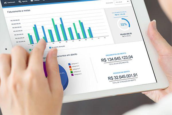 finanças por meio de softwares de automação