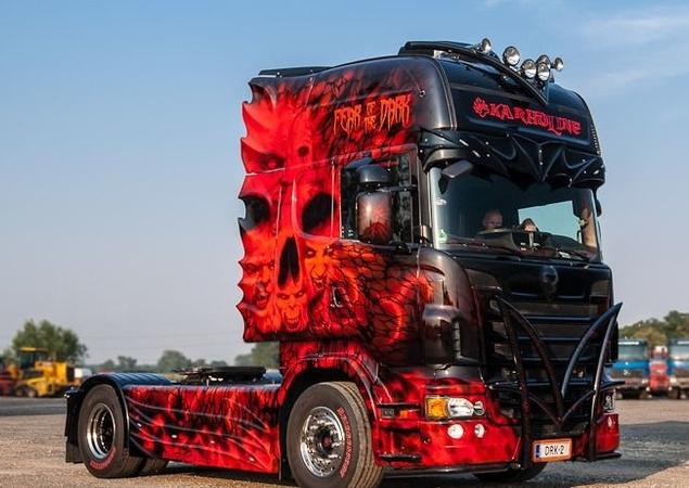 Qual é o seu estilo para personalizar seu caminhão?