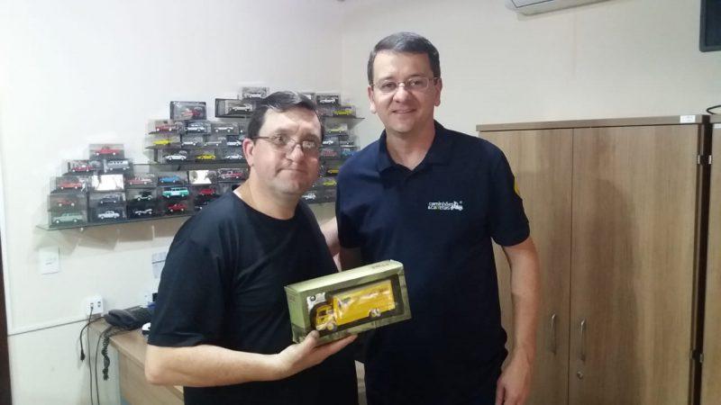 Ganhador do Ford Cargo Simca da Promoção Caminhões e Carretas