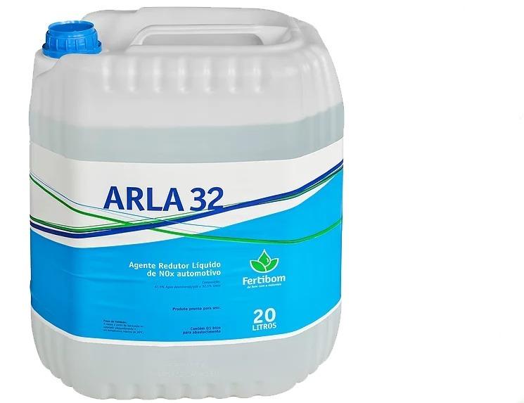 ARLA 32 ajuda a diminuir a poluição ambiental e garante o funcionamento do Sistema Euro 5