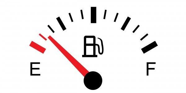 Maior consumo de combustível