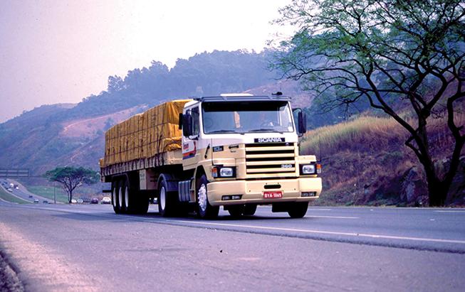 Tempo de uso do caminhão