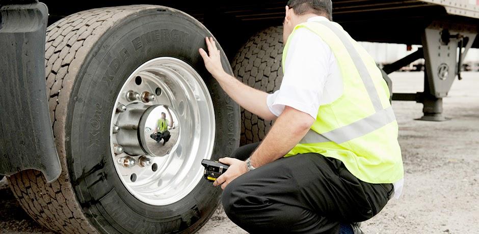 Checagem dos pneus
