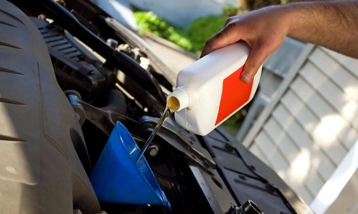 Verificação do óleo do motor