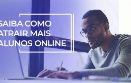 como atrair aluno online