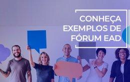 exemplos de forum ead
