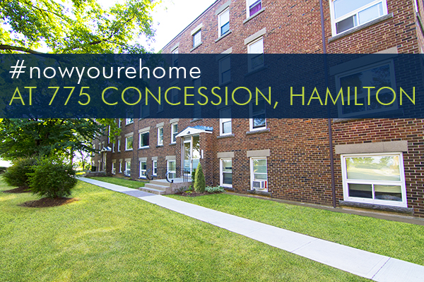 Our Hamilton Apartments At 775 Concession Street!