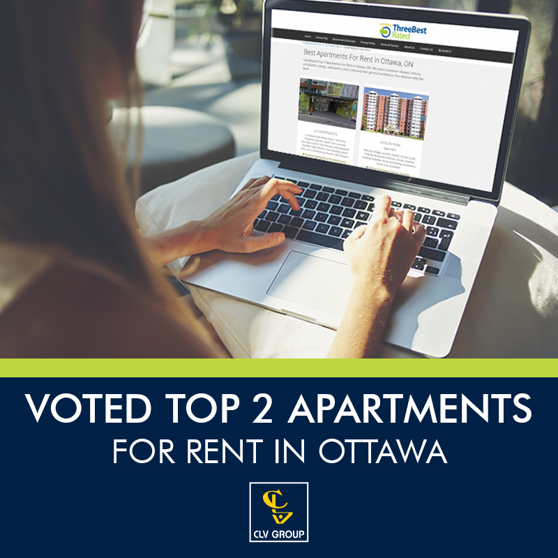 Looking Apartment For Rent: CLV Group Rated Best Apartments For Rent In Ottawa