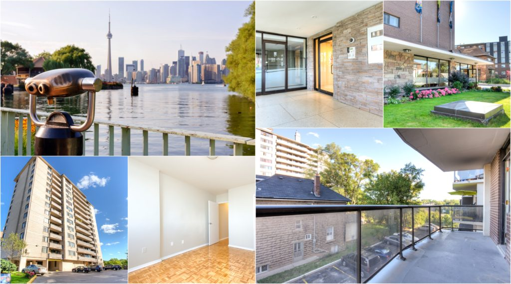Riverview Apartments Collage