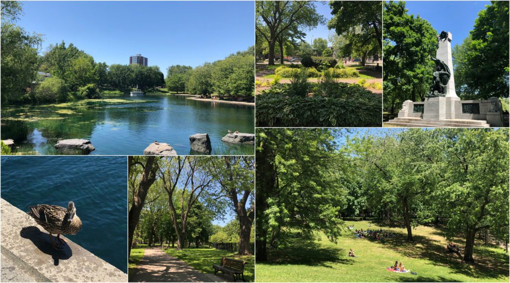 Top Outdoor Summer Spots in Montreal - CLV Group - Collage