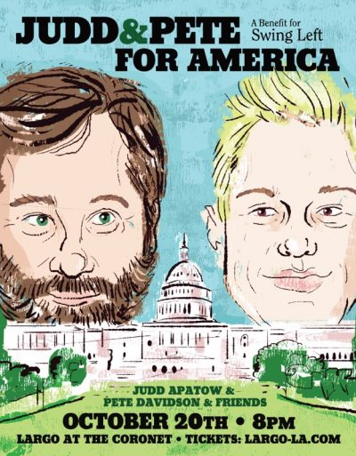 Judd & Pete For America - A Benefit for Swing Left