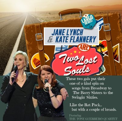 Jane Lynch & Kate Flannery are Two Lost Souls